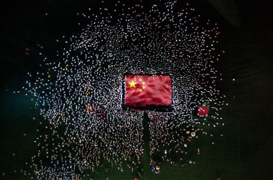 在场丨新燕齐飞,用青春告白祖国桌球大师挑战赛