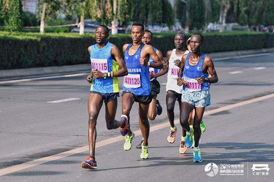 顶尖服务保障榆林国际马拉松赛黑科技提升选手参赛体验新维月刊