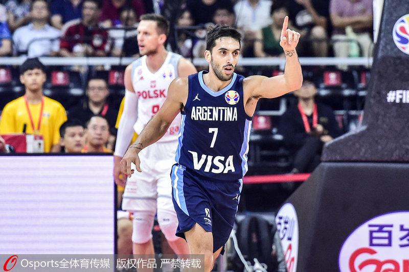 高清:2019男篮世界杯I组阿根廷91:65狂胜波兰