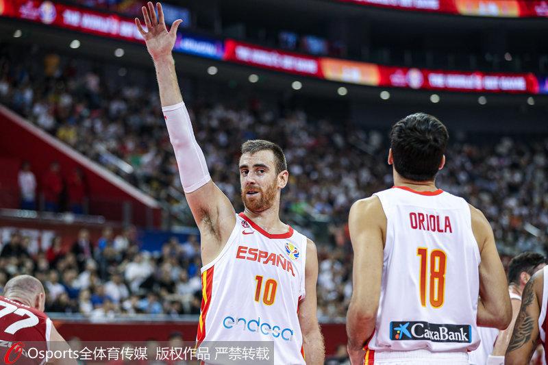 高清:男篮世界杯8强赛西班牙90:78力擒波兰挺进四强