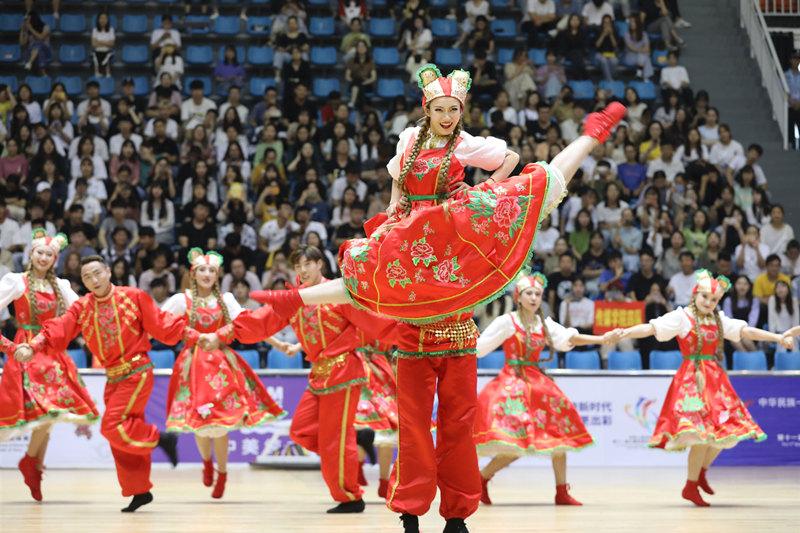 上海队综合类表演项目《布鲁光斯基撒铛基》