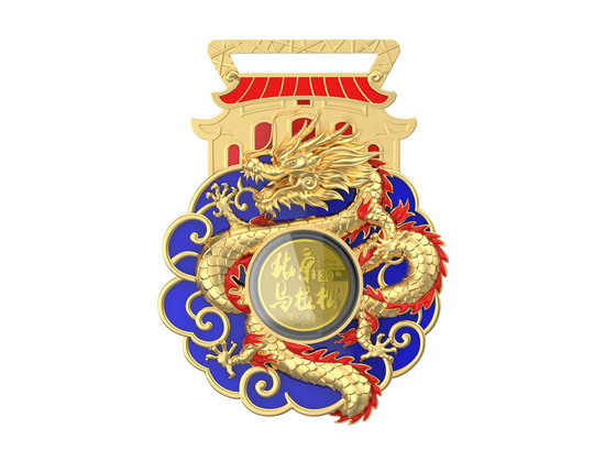 2019年北京马拉松完赛奖牌