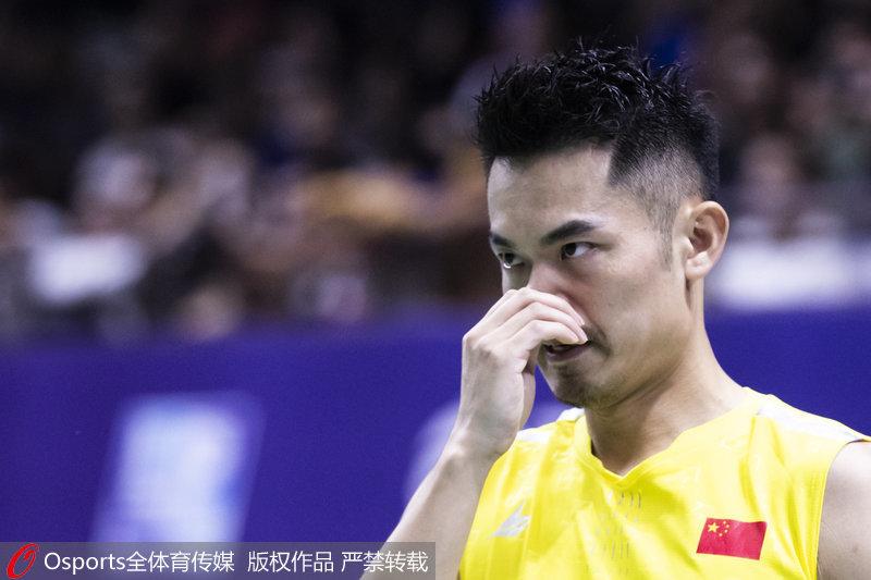 高清:2019中国羽毛球公开赛林丹0