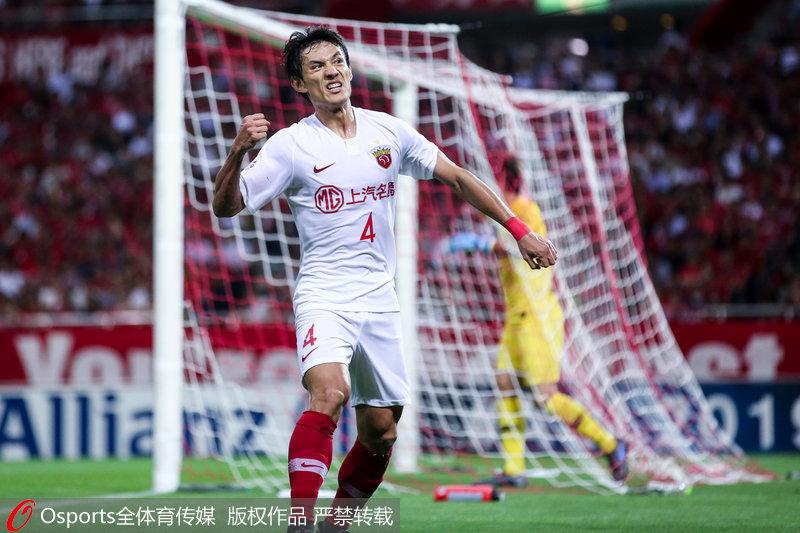 亚冠-王燊超破门难救主上港总比分3-3浦和无缘半决赛
