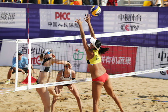 2019奥运会沙排世界资格赛首日中国女队晋级男队出局