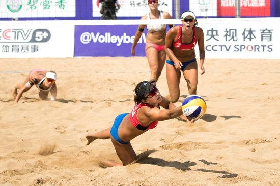 中国沙排女队憾负出局男子沙排奥运资格出炉