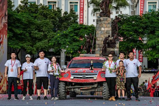 并且在今年年初的时候找foganglao有本地李鹏程针对东川的赛事进行了专项训练
