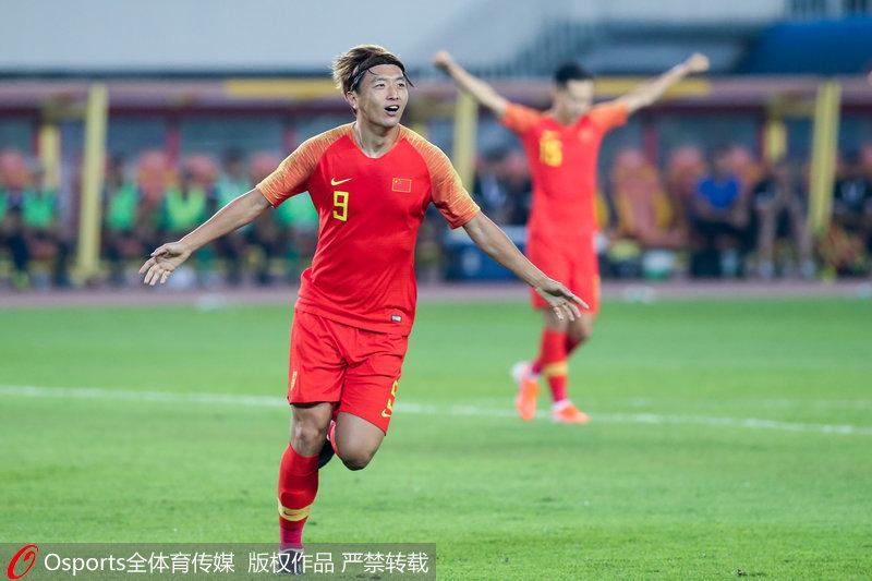 世预赛-杨旭大四喜武磊艾克森建功国足7-0关岛迎两连胜