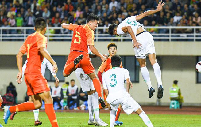 四国赛:张玉宁伤退 中国国奥0:0平沙特国奥