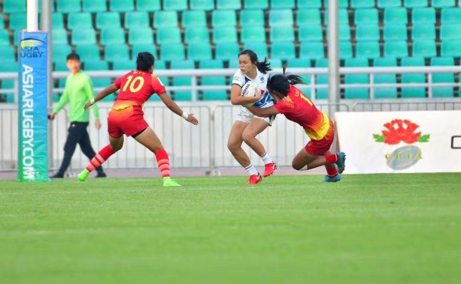 历史性突破!中国女子橄榄球队挺
