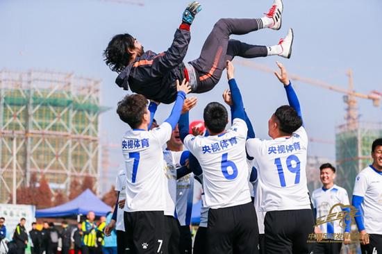 """游戏赚钱:""""中国足球发展基金会杯""""首届全国体育新闻工作者足球联赛在杭州落幕"""