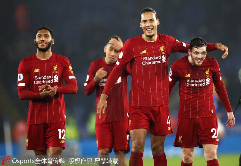 英超-菲尔米诺2球阿诺德天猫双十一晚会2018传射利物浦4-0客胜莱斯特城