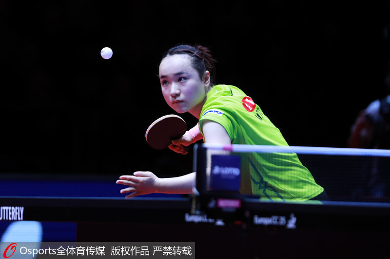 乒乓球卡塔爾公開賽首輪 伊藤美誠4-1顧玉婷順利晉級