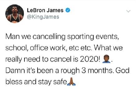 NBA:受新冠肺炎疫情影響,暫停2019-2020賽季剩下場次的比賽