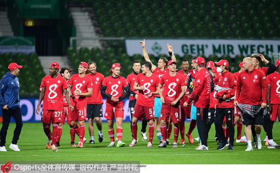 拜仁8连冠刷新德甲历史2018年春节联欢晚会追平五大联赛最长连冠纪录