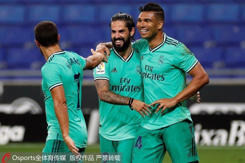 西甲-武磊首发登场皇家马德里1:0客胜西班牙人