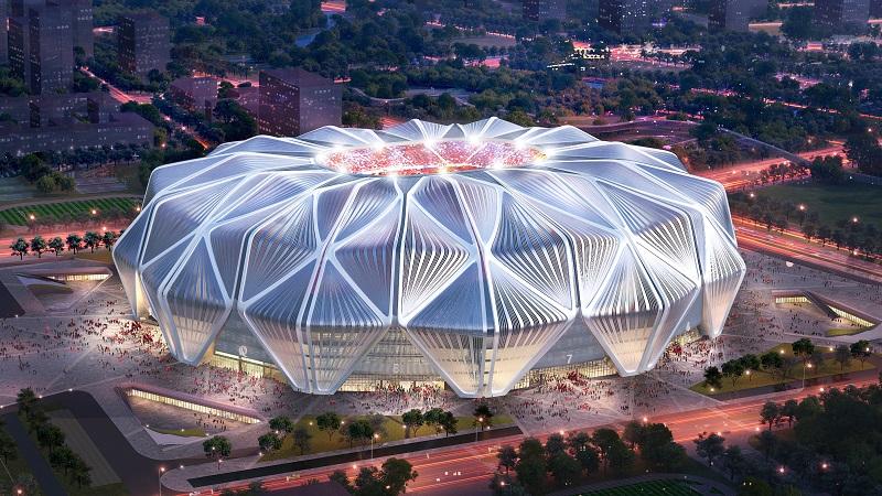 广州恒大专业足球场设计方案正式出炉 全票通过城市规划委员会审批
