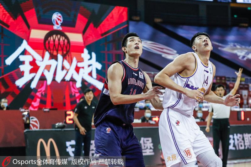 高清:郭凯、王少杰两大状元正面交锋北控106-102力克广州