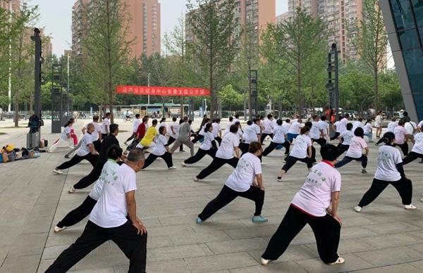 瑶海全民健身中心积极助推群众体育发展
