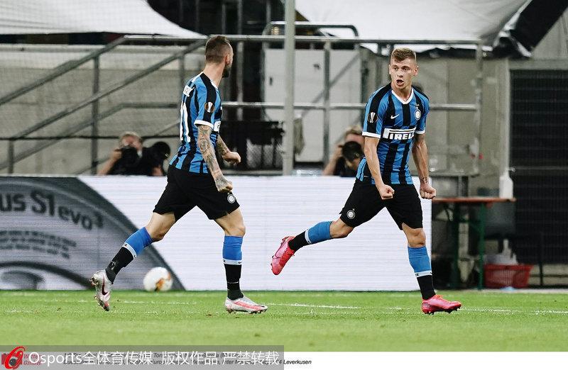 欧联杯-卢卡库破门创国米纪录蓝黑军团2-1淘汰药厂