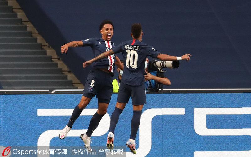 欧冠-迪玛利亚两传一射巴黎圣日耳曼3:0莱比锡挺进决赛