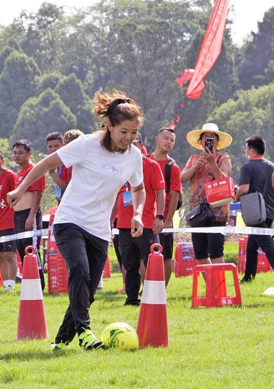 全国农民体育健身大赛和美丽乡村健康跑分别在广西、江苏举行