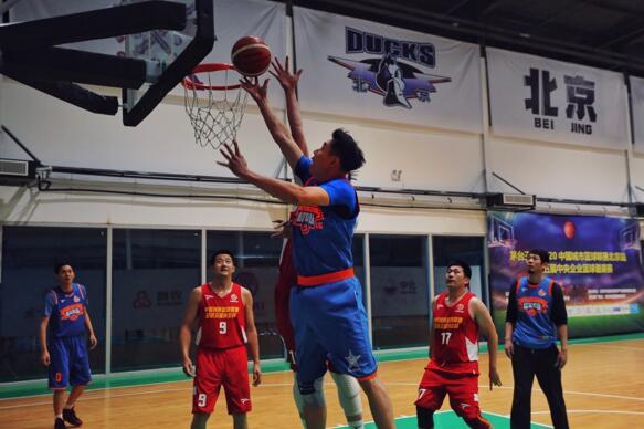 2020年中国城市篮球联赛北京站开赛--体育--人民网