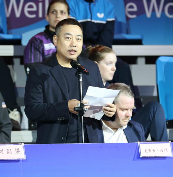 女乒世界杯在威海开幕刘国梁:我们在见证伟大时刻