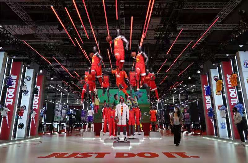 進博會首設體育用品及賽事專區未來運動圖景在這裡勾勒