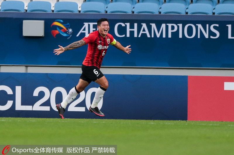 亚冠-蔡慧康、洛佩斯破门上海上港2-1胜横滨水手