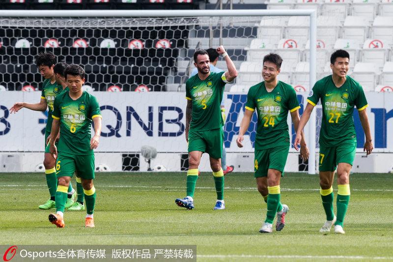 亚冠-比埃拉世界波奥古斯托凌空斩北京国安3:1首尔FC锁定小组第