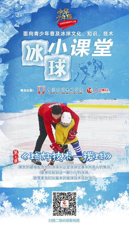 《冰球小课堂》第七集:球杆技术-拨球