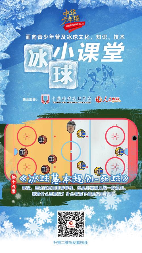 《冰球小课堂》第十五集:冰球基本规则-死球