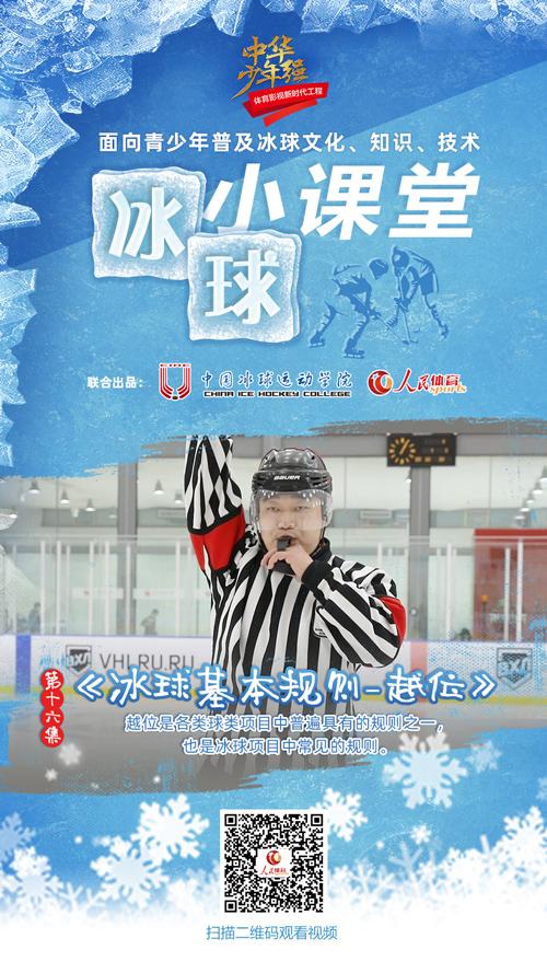 《冰球小课堂》第十六集:冰球基本规则-越位