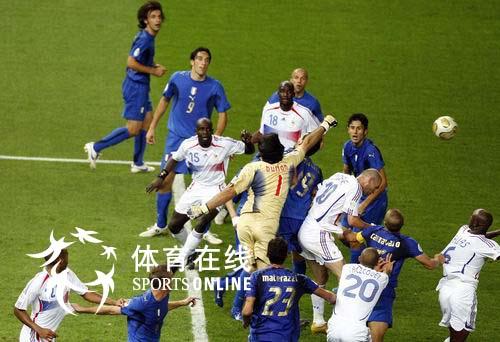 大利队点球击败法国队夺冠 16 -2006德国世界杯