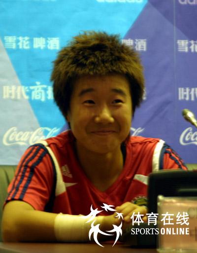 毕妍 球迷的热情带动了中国女足的发挥