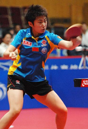 的2007女子世界杯乒乓球小组赛第三轮比赛中,以4比0战胜多米尼加