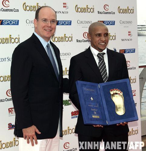 2008年金足奖揭晓 罗伯特 卡洛斯