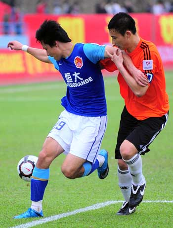 中甲联赛揭开大幕 广州恒大从头再来