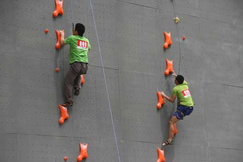 攀岩运动_图文澳大利亚流行攀岩运动