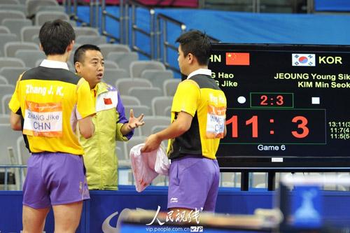 [王者]亚运乒乓球:王皓/张继科逆转韩国黑马晋组图滑翔伞图片
