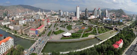 西宁市 中心广场图片