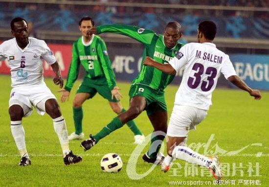 亚冠-主场作战连失良机 杭州绿城0-0平阿尔艾因