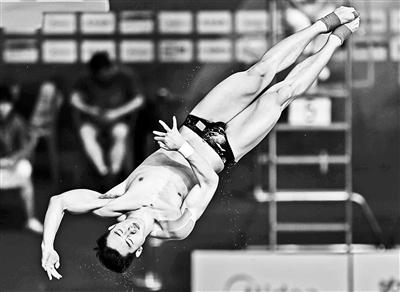 跳水奥运选拔赛新人强势出击